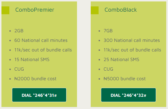 9mobile morebusiness combopremier and comboblack