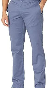 Amazon Brand - Goodthreads Men's Slim-Fit Washed Stretch Chino Pant