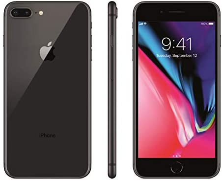Apple iPhone 8 Plus, 64GB, Space Gray - for Cricket Wireless (Renewed)