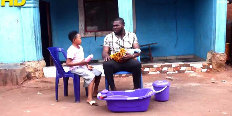 MY TROUBLESOME WIFE HAS TURNED ME INTO HER BABY NANNY - african movies 2021 nigerian movies 2021
