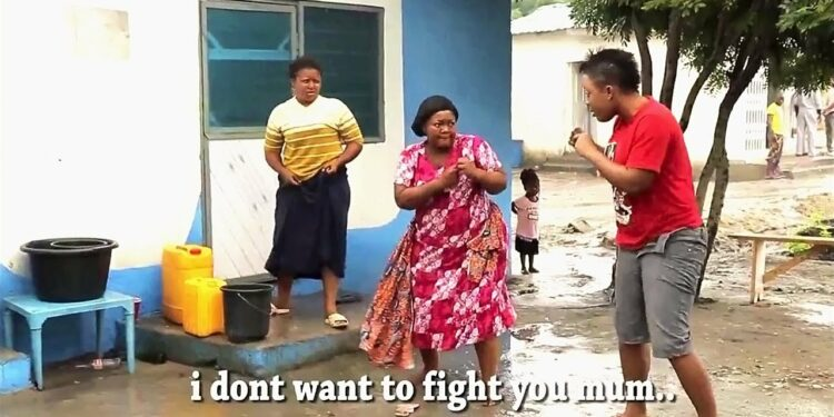 THE TROUBLESOME GHANA GIRL WHO FIGHTS WITH HER MOM ALWAYS - Ghana Movies|Twi Movies|Kumawood Movies