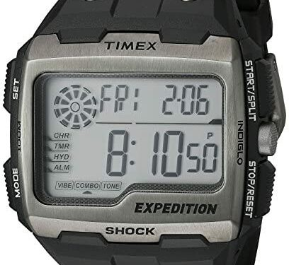 Timex men's Expedition Grid Shock 50mm Watch