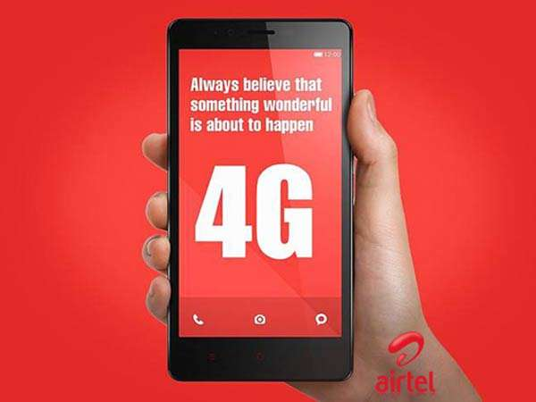 airtel android data